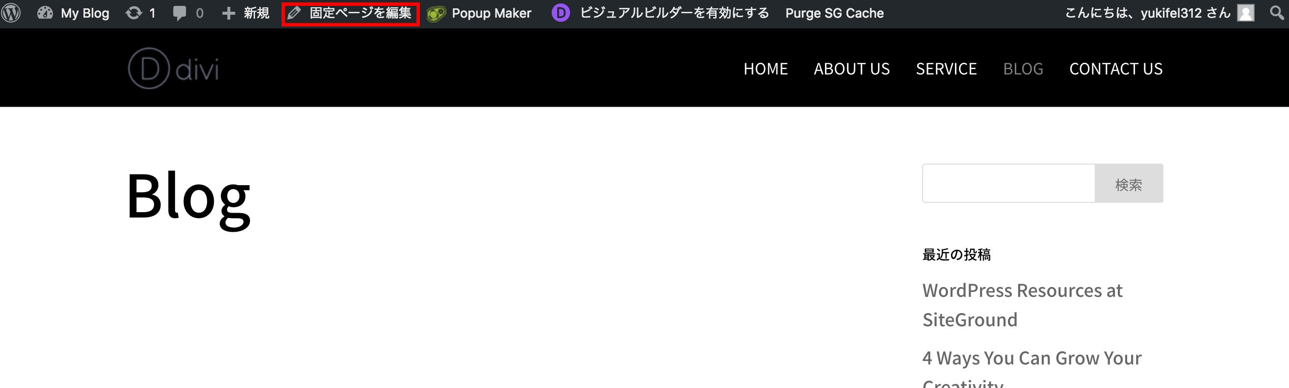 DTS Divi Plugin Screenshot
